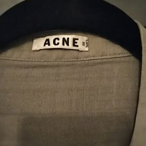 Acne Tops - Acne cotton/silk blend shirt